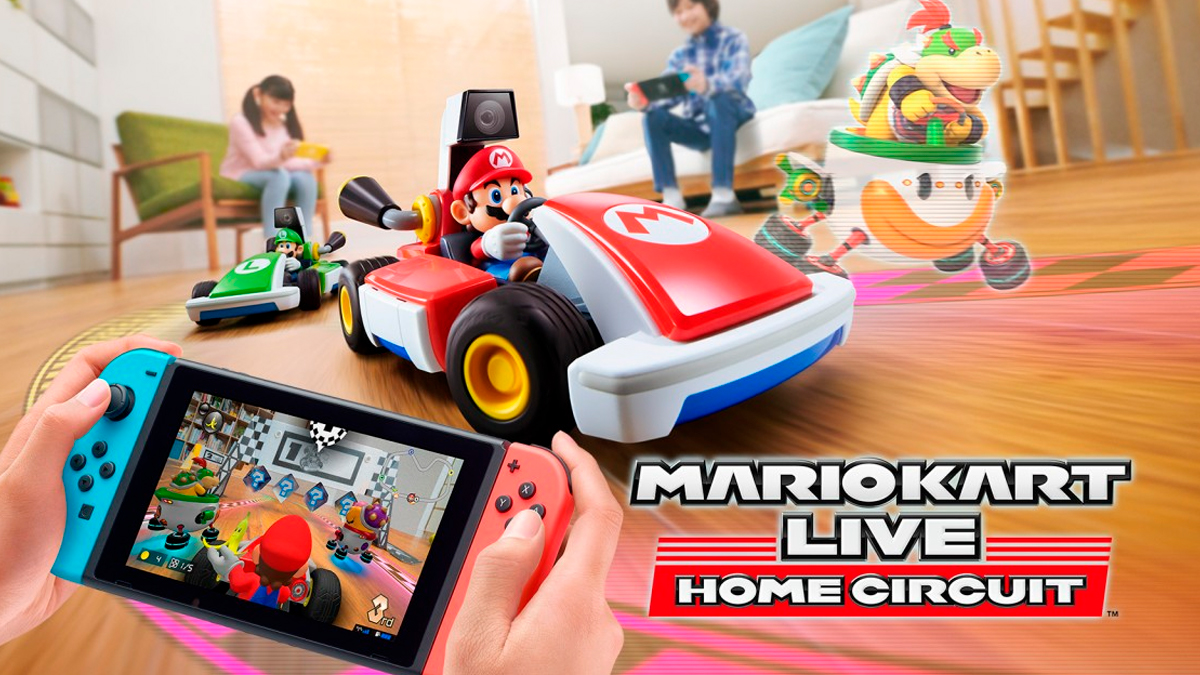 Nintendo anuncia 'Mario Kart Live: Home Circuit' para Switch