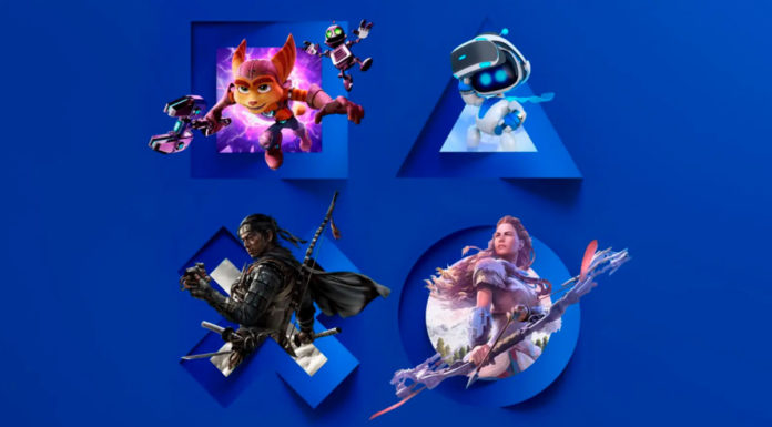 Imagens de jogos que fazem parte da retrospectiva de 2020 da PlayStation