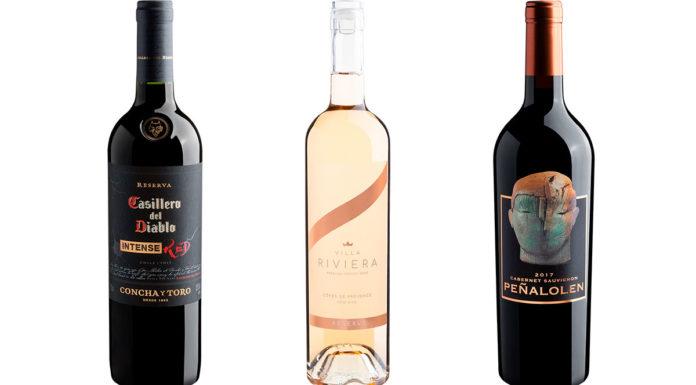 Três garrafas em promoção na Semana de Loucuras de Verão