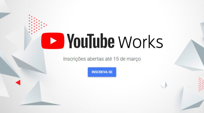 Banner do YouTube Works.