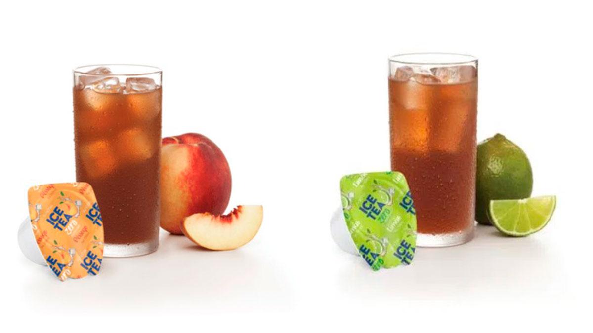 B.Blend Ice Tea Zero Pêssego e Limão.