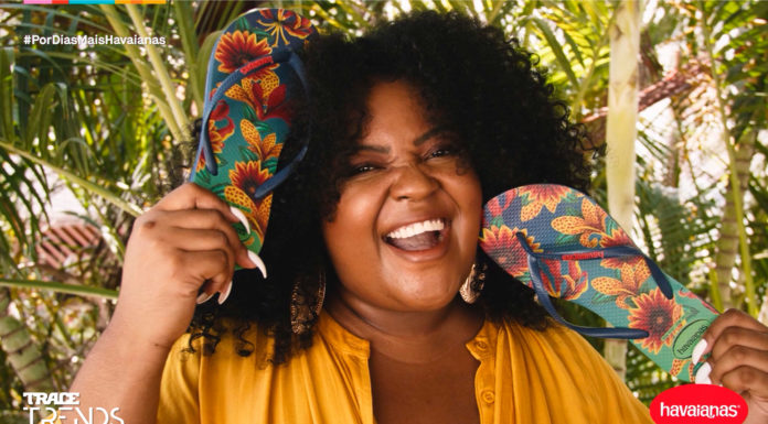 Joyce Carolina para a série Creators da Havaianas.