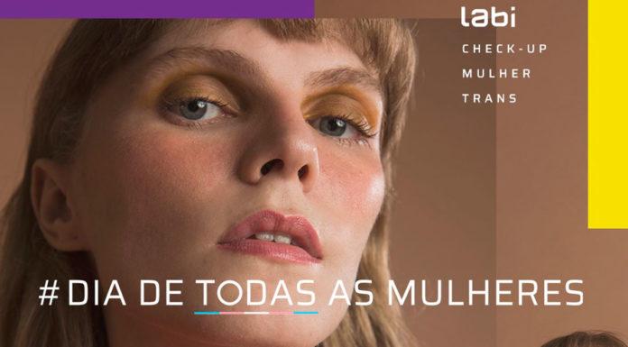 Alina Dorzbacher para o lançamento do Check-up Trans da Labi.