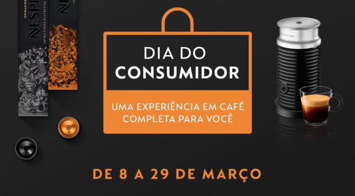 Banner do dia do consumidor com a masterclass da Nespresso.