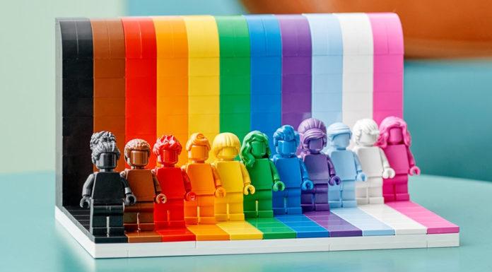 LEGO orgulho LGBTQIA+