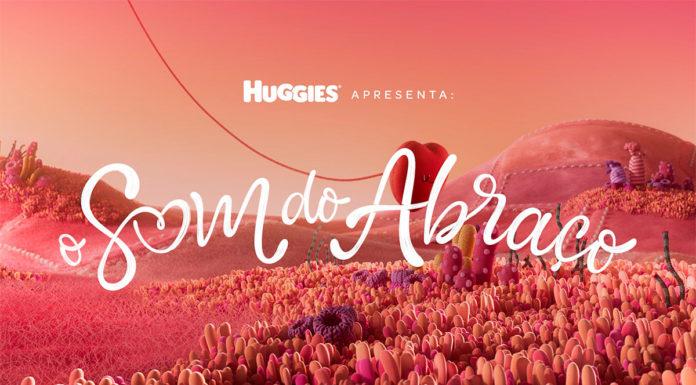 Campanha da Huggies com animação 3D.