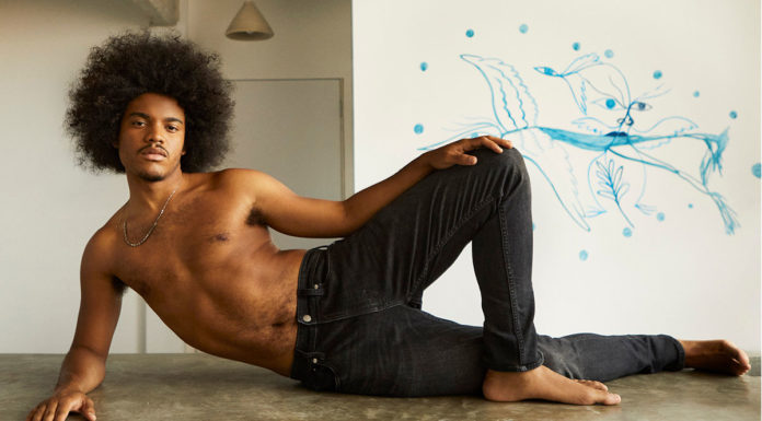 Samuel de Saboia para a nova campanha LGBTQIA+ da Calvin Klein.