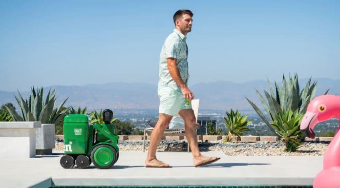 Heineken cooler robô