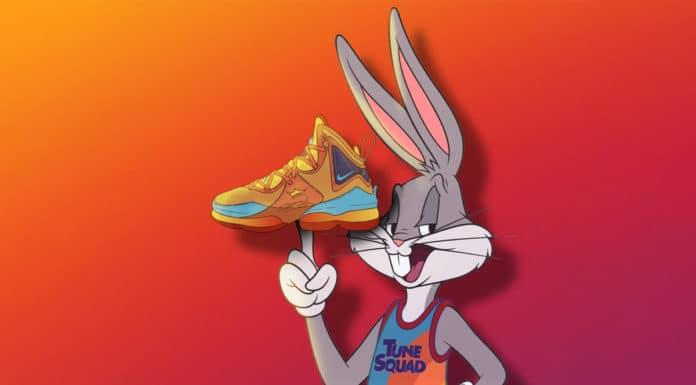 Coleção Nike Space Jam tênis LeBron 19