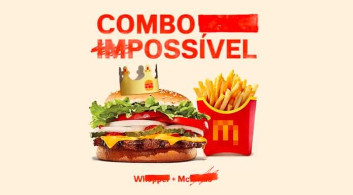 Combo Impossível Rappi Burger King e McDonald's