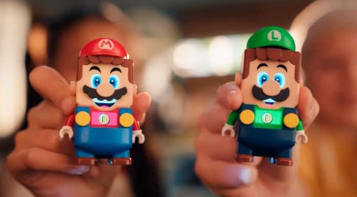 Pack para dois jogadores de Lego Super Mario.
