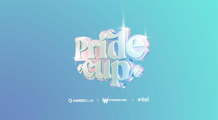 Foto de divulgação de patrocínio da Acer e Intel na Pride Cup.