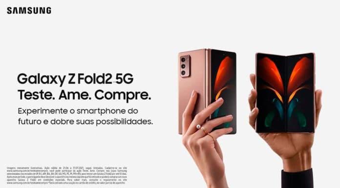 Samsung Galaxy Z Fold2 5G.