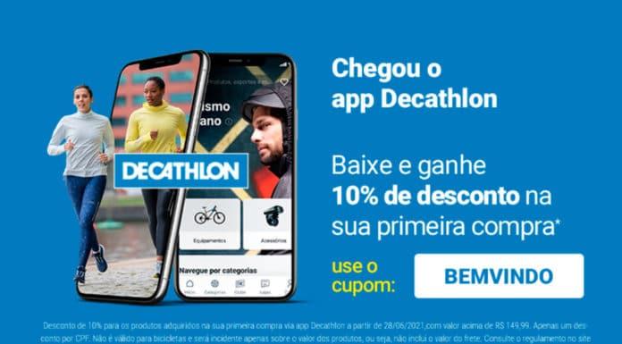 Foto de divulgação do aplicativo Decathlon.