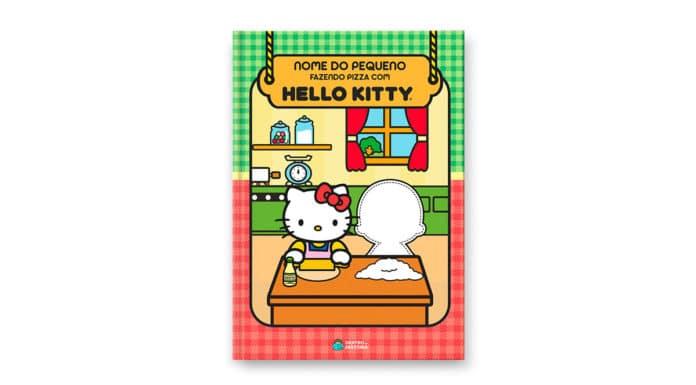 Dentro da História com Hello Kitty.