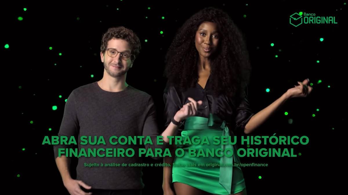 Camilla de Lucas e Bruno Sigrist Banco Original