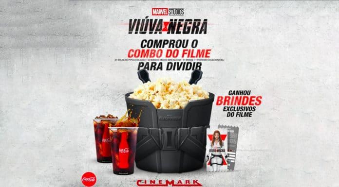 Cinermark combo Viúva Negra
