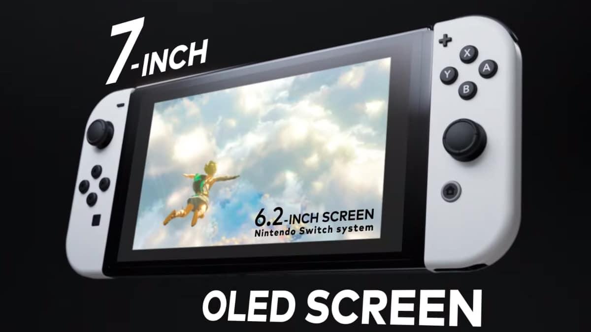 Nintendo Switch ganha versão com tela OLED