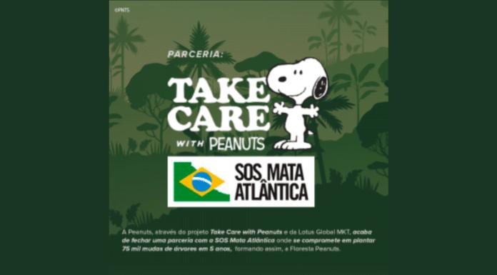 Snoopy SOS Mata Atlântica