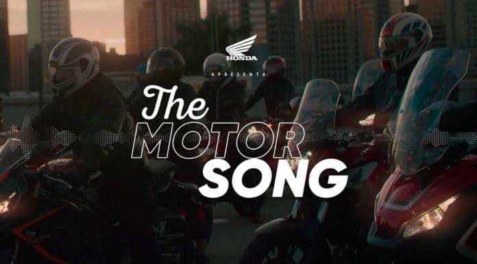 Orquestra de motores da Honda.
