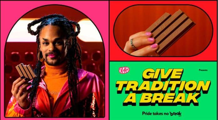 Campanha que KitKat quebra ritual e celebra a diversidade.