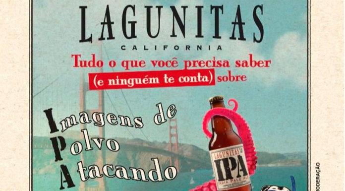 Lagunitas para Dia Internacional da IPA.