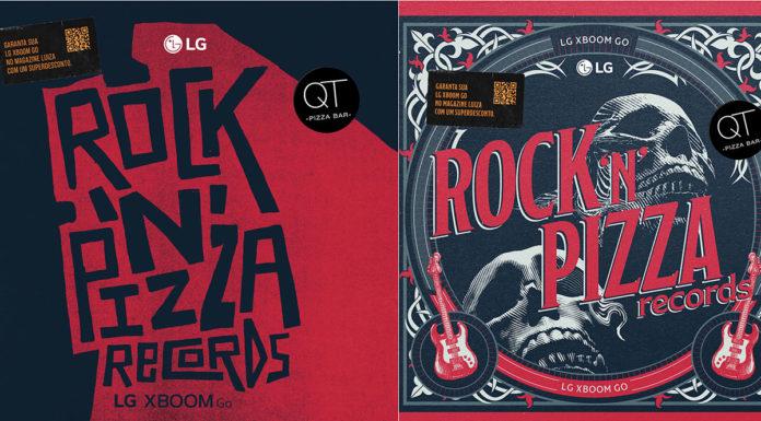 Ação Rock 'n' Pizza Records da LG.