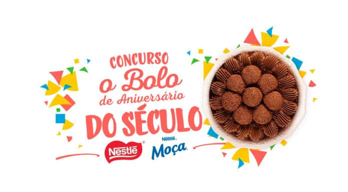 Concurso da Nestlé para descobrir o melhor bolo de aniversário.