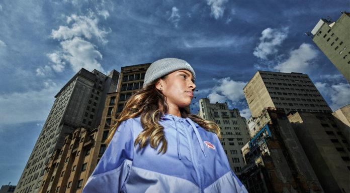 Rayssa Leal na campanha da Nike.