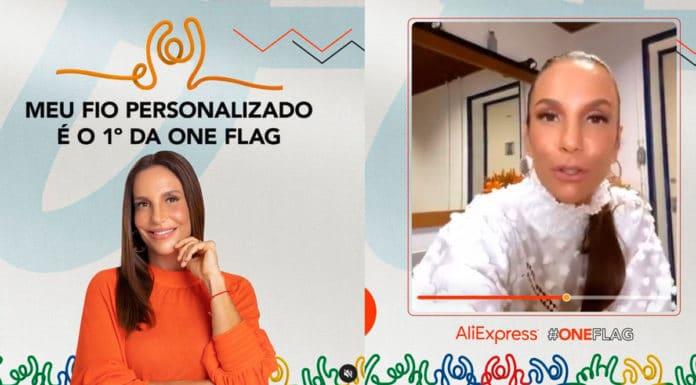 One Flag com Ivete Sangalo.