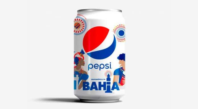 Lata digital da Independência da Bahia da Pepsi.