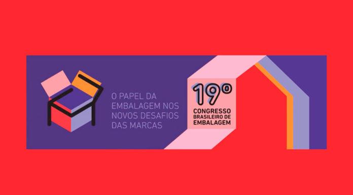 Banner do 19º Congresso Brasileiro de Embalagem ABRE.