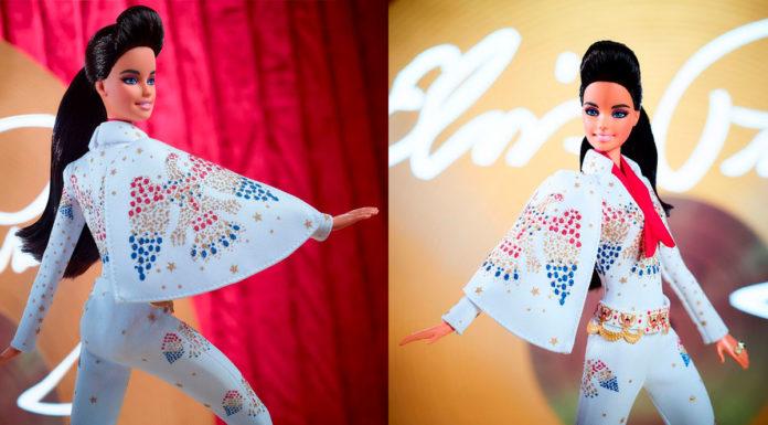 Barbie Elvis Presley.