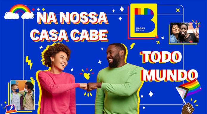 Campanha antirracista das Casas Bahia.