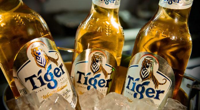 Cerveja Tiger chega no sudeste e nordeste do país.