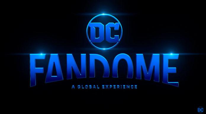 Banner de DC FanDome 2021, que teve suas atrações reveladas.