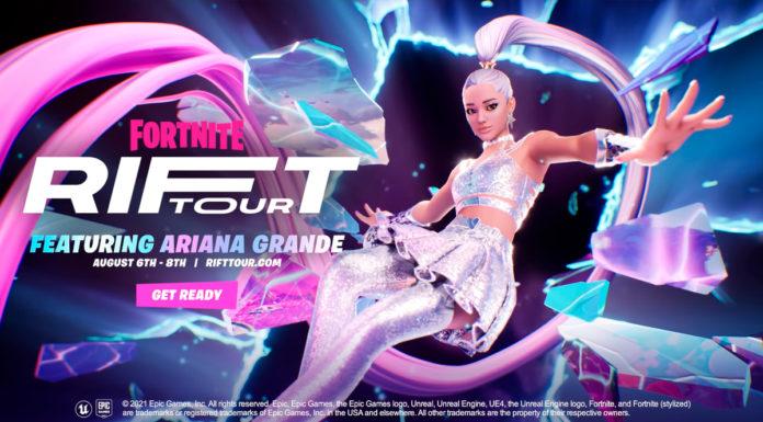 Evento da Ariana Grande no Fortnite