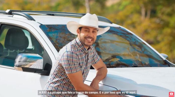 Caio Afiune protagoniza nova campanha da Chevrolet para picape S10