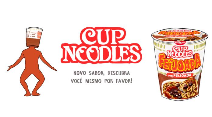 Cup Noodles feijoada