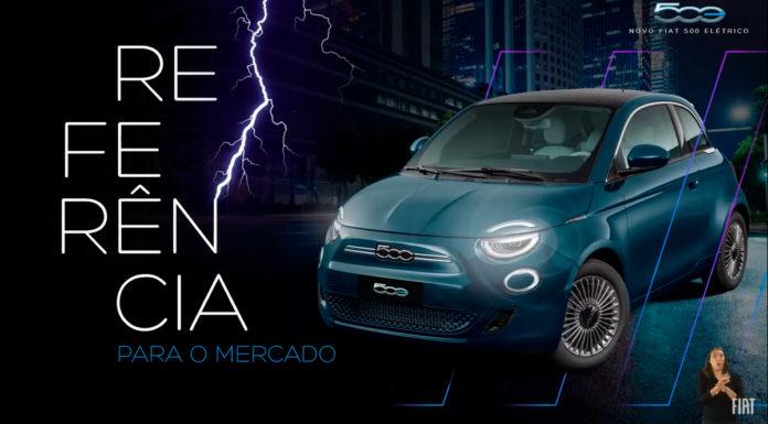 Novo Fiat 500 Elétrico