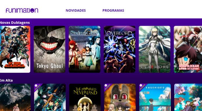 Funimation animes dublados