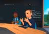 Mark Zuckerberg no Horizon Workrooms