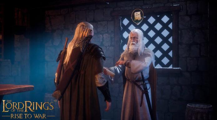 Jogo mobile de O Senhor dos Anéis