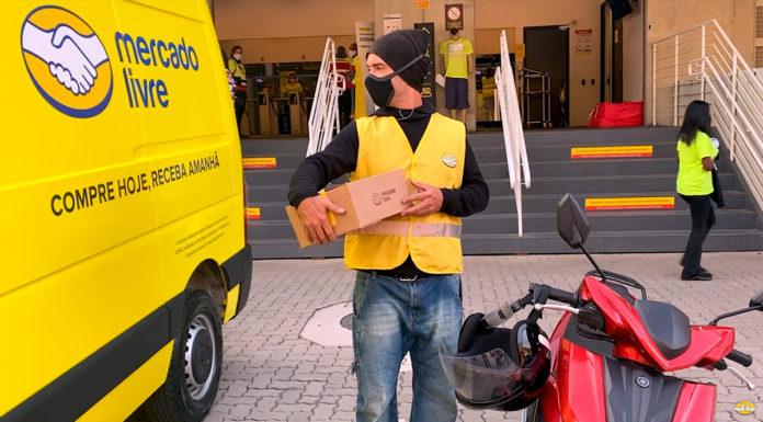 Marco Luque como Jackson Faive em filme do Mercado Livre
