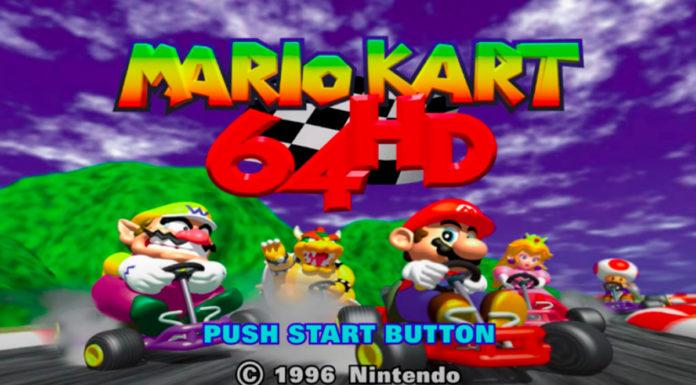 Mario Kart 64 em 4K