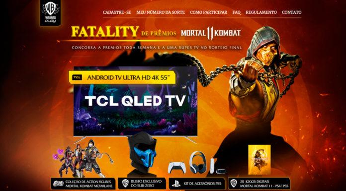 Mortal Kombat Promoção
