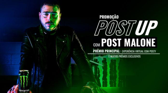 Capa da promoção de Monster com Post Malone