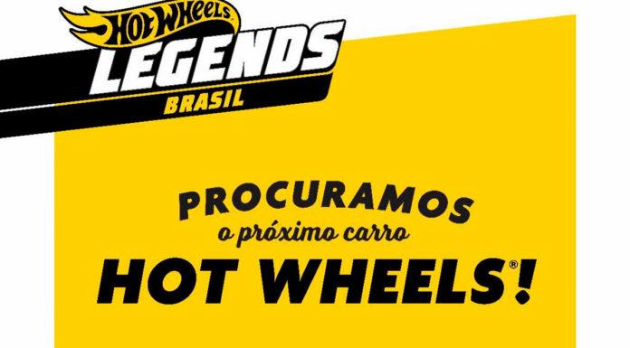 Concurso Hot Wheels Legends a procura da sua minuatura.