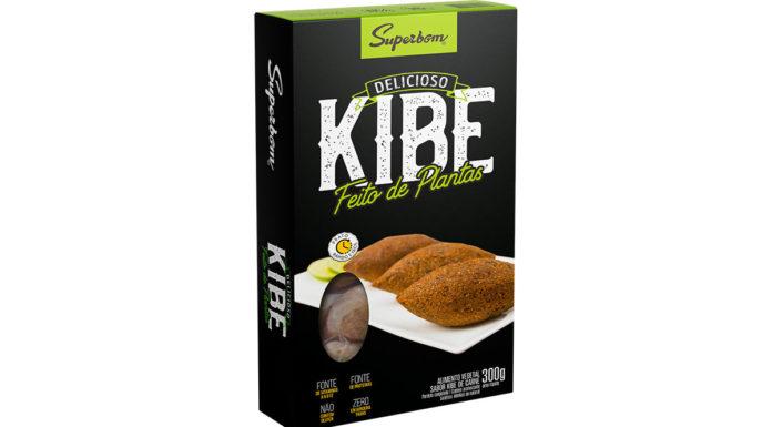 Kibe Superbom plant-based.