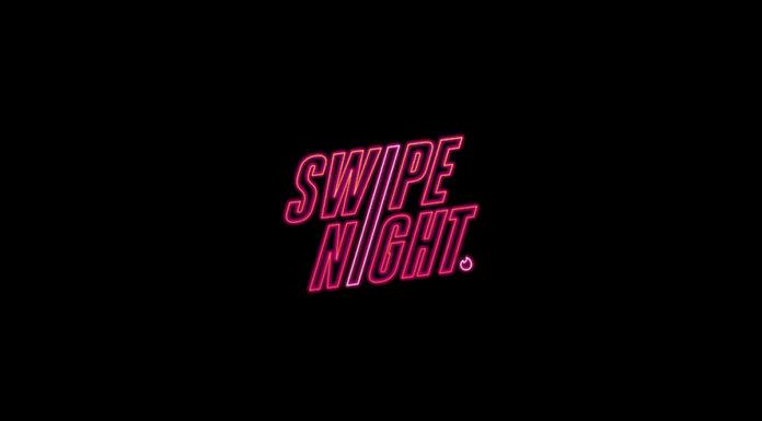 Ação Swipe Night de Tinder.